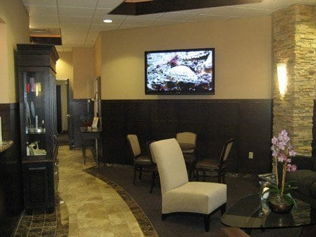 cosmetic center waiting room