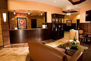 Lobby and Waiting Room at the Center for Cosmetic Surgery